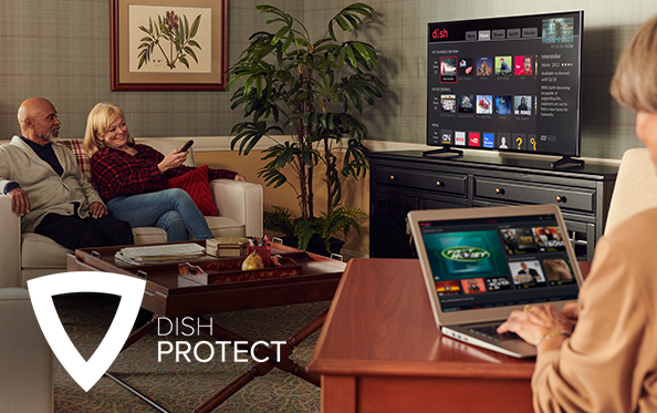 DISH Protect | 55+ Special Offers on TV
